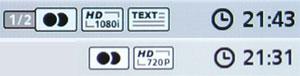 Anzeige der HDTV-Auflösung
