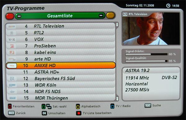 Senderlogos der Premium-tvtv-EPG Sender