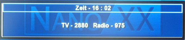 Anzeige der gefundenen Sender & Radioprogramme