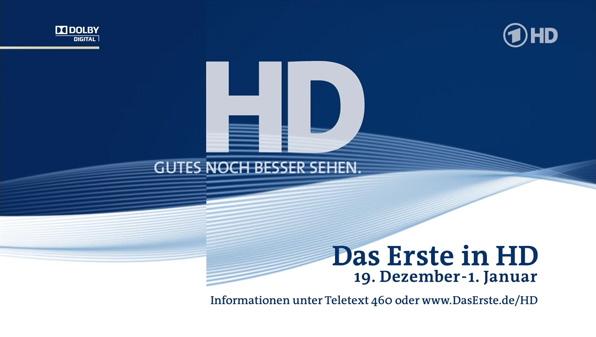 Das Erste HD Showcase Weihnachten 2009/2010