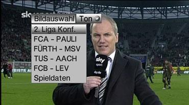 Sky Bundesliga Optionskanäle lassen sich bequem auswählen