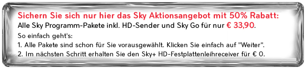 sky aktionscode